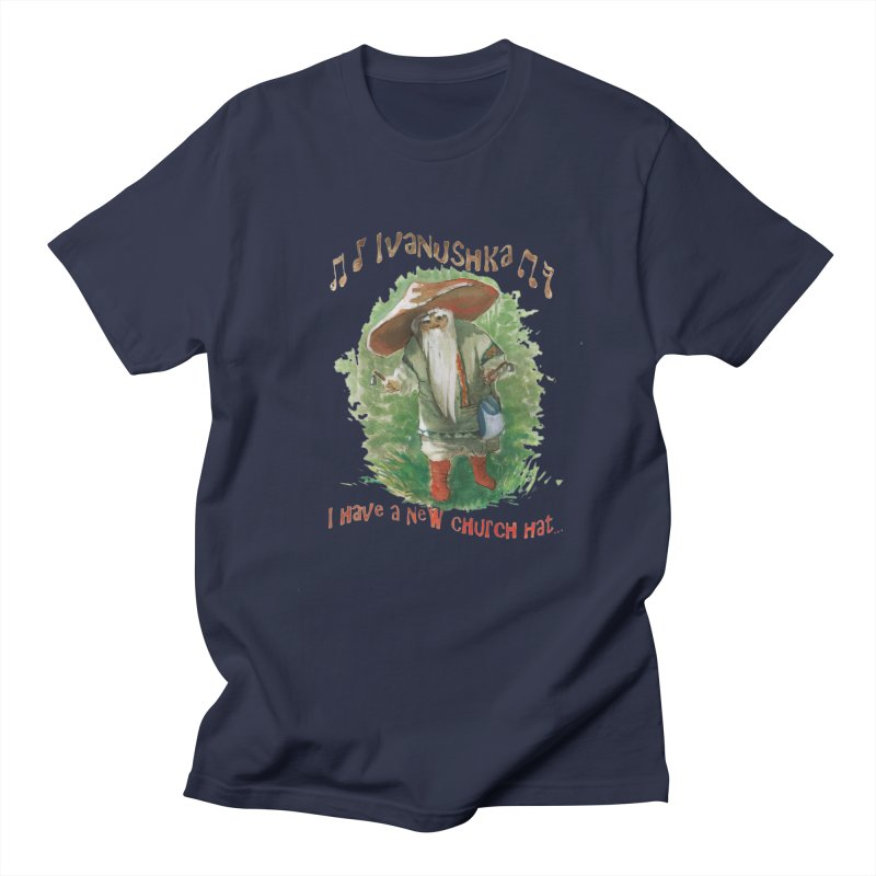 Grandfather Mushroom Women's Unisex T-Shirt by Yodagoddess' Artist Shop