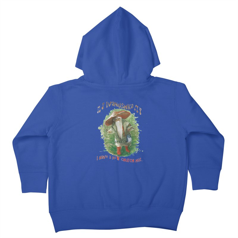 Grandfather Mushroom Kids Toddler Zip-Up Hoody by Yodagoddess' Artist Shop