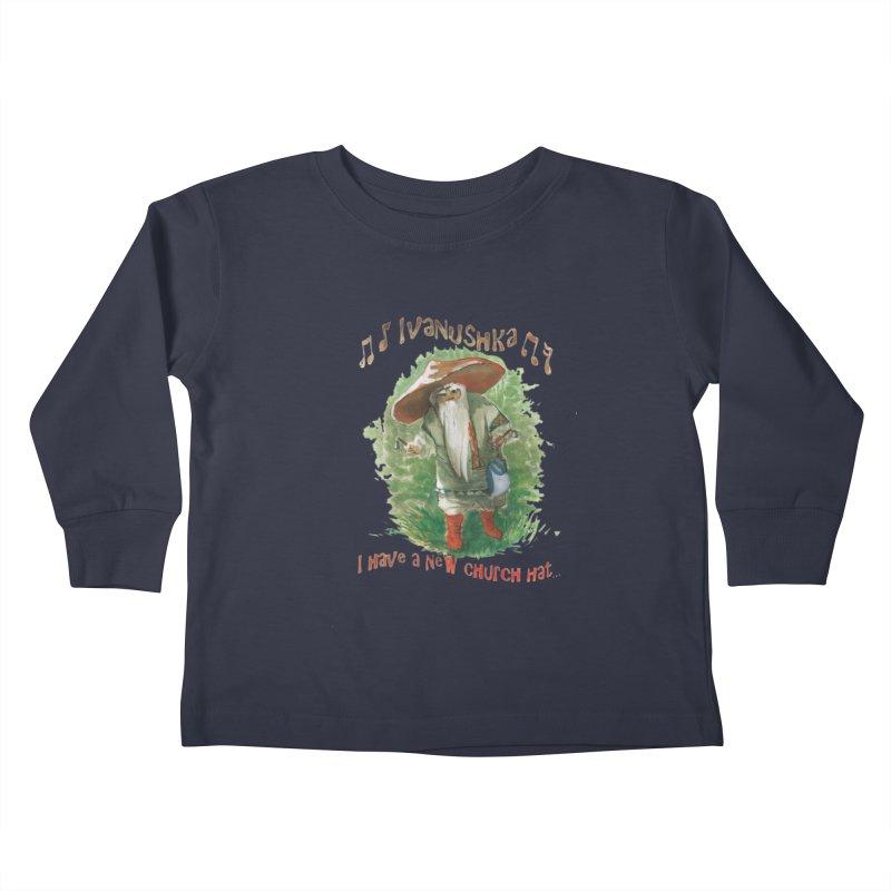 Grandfather Mushroom Kids Toddler Longsleeve T-Shirt by Yodagoddess' Artist Shop