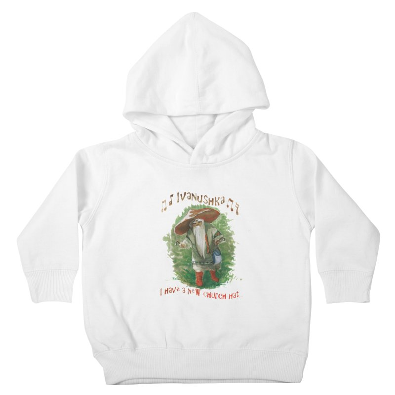 Grandfather Mushroom Kids Toddler Pullover Hoody by Yodagoddess' Artist Shop