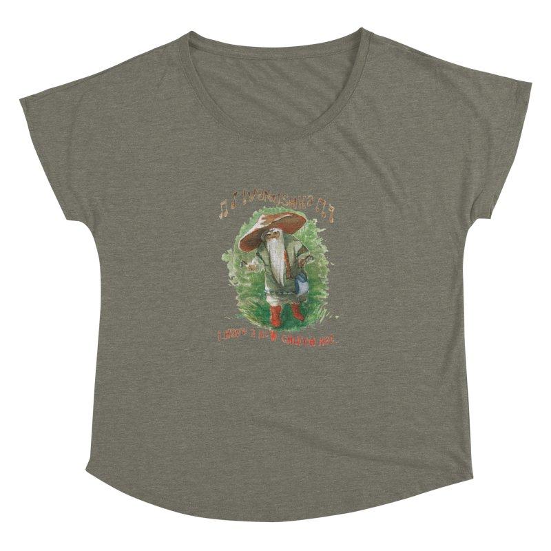 Grandfather Mushroom Women's Dolman by Yodagoddess' Artist Shop