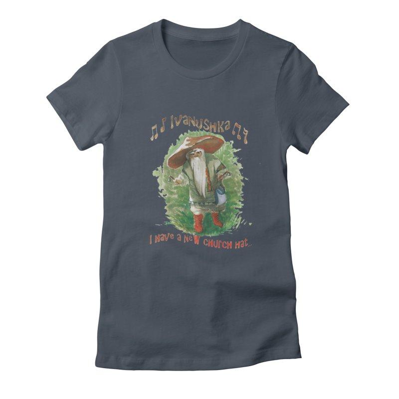 Grandfather Mushroom Women's Lounge Pants by Yodagoddess' Artist Shop