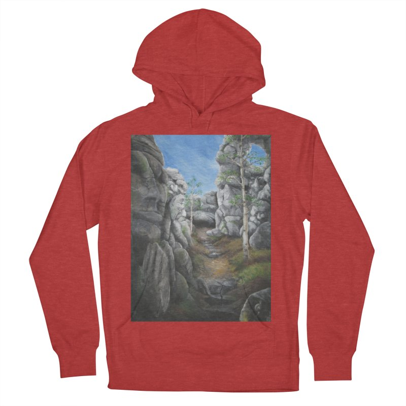 Rock Faces Men's Pullover Hoody by Yodagoddess' Artist Shop