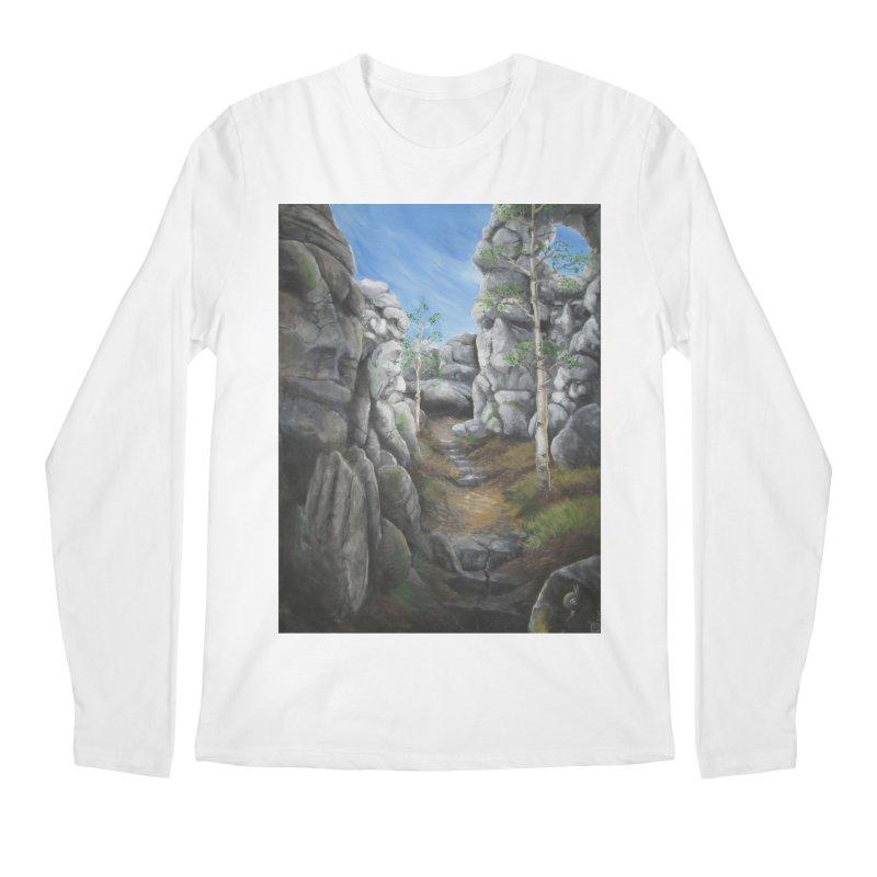 Rock Faces Men's Longsleeve T-Shirt by Yodagoddess' Artist Shop