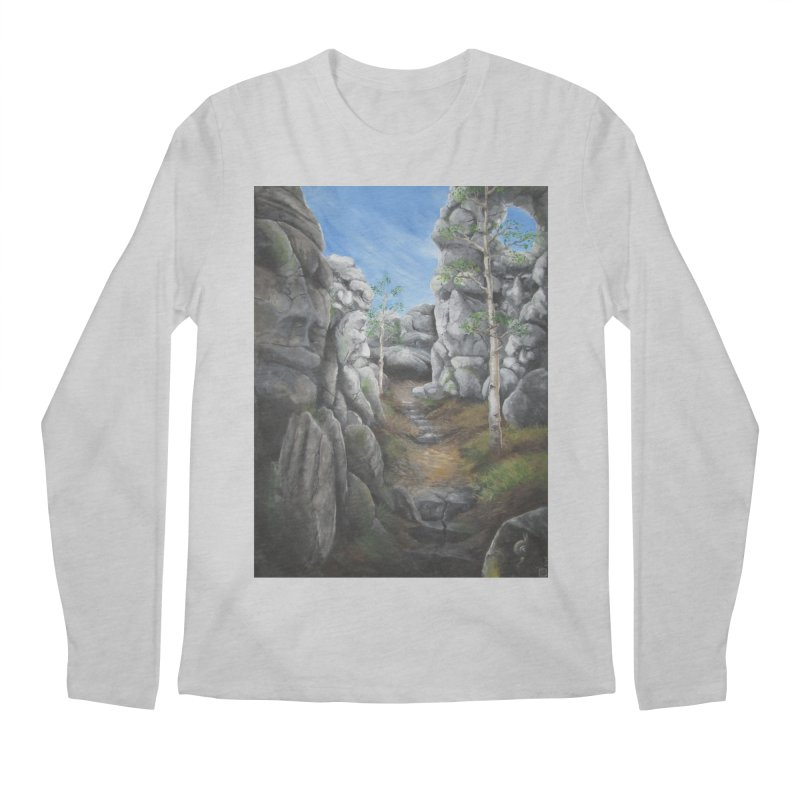 Rock Faces Men's Longsleeve T-Shirt by Yodagoddess' Artist Shop