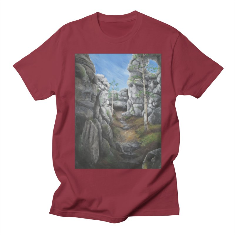 Rock Faces Men's T-shirt by Yodagoddess' Artist Shop