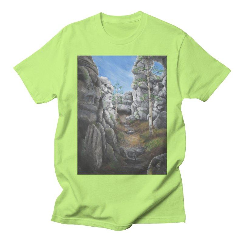 Rock Faces Women's Unisex T-Shirt by Yodagoddess' Artist Shop
