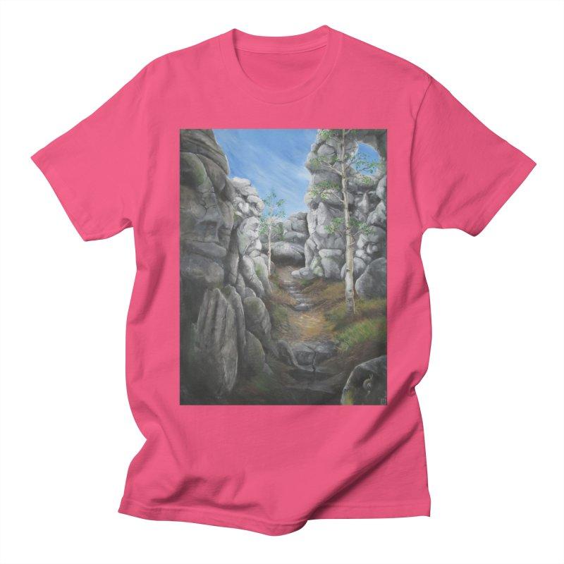 Rock Faces Women's Regular Unisex T-Shirt by Yodagoddess' Artist Shop