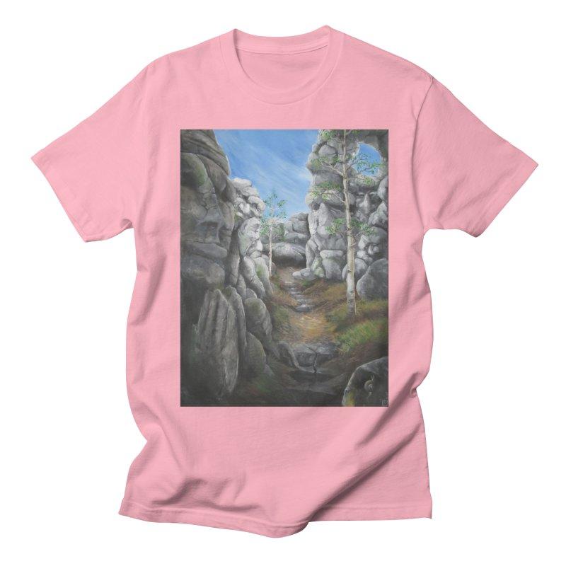 Rock Faces Men's T-Shirt by Yodagoddess' Artist Shop