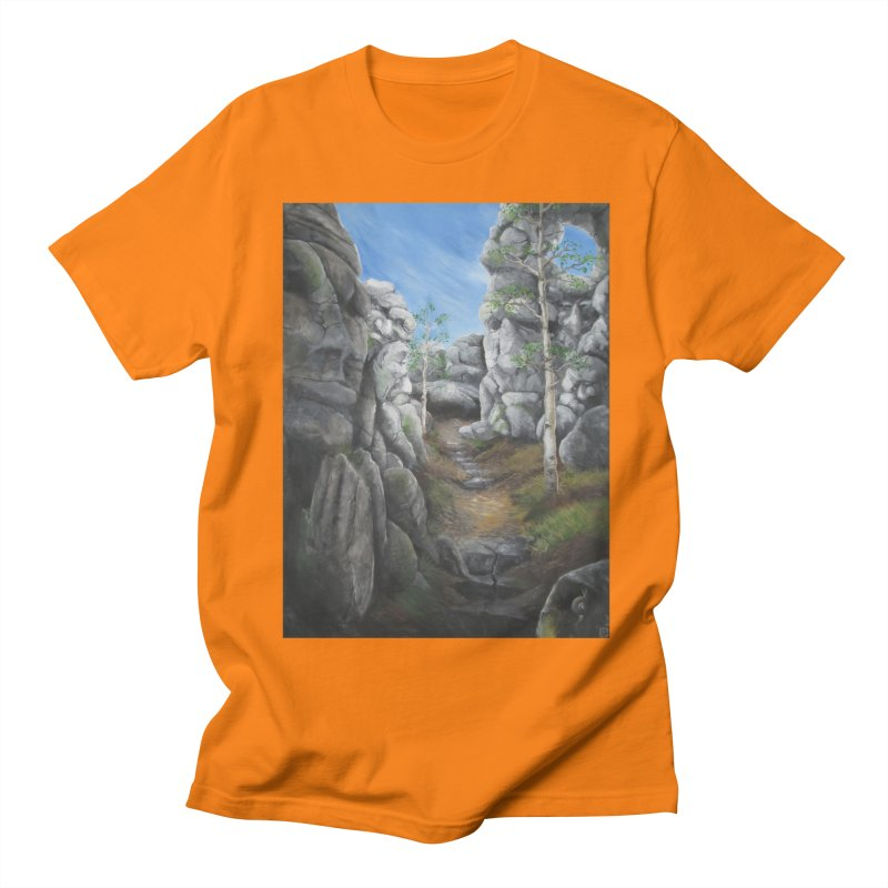 Rock Faces Women's Unisex T-Shirt by Yodagoddess' Artist Shop