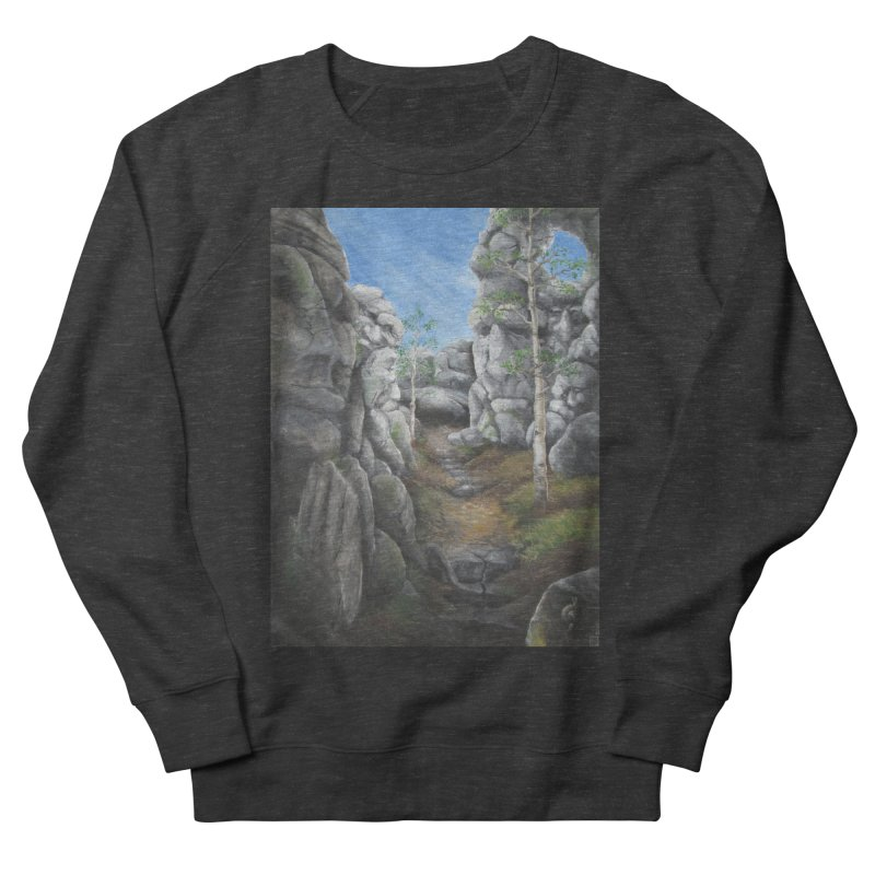 Rock Faces Men's Sweatshirt by Yodagoddess' Artist Shop
