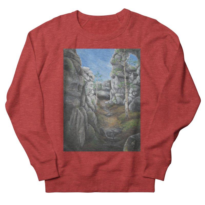 Rock Faces Men's Sweatshirt by Yodagoddess' Artist Shop