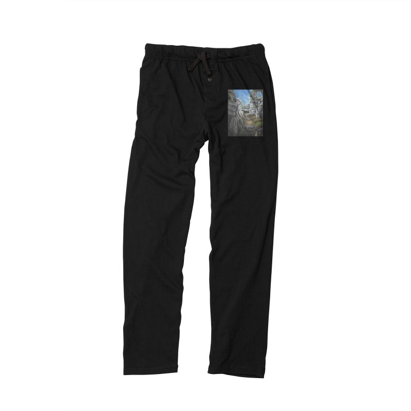 Rock Faces Women's Lounge Pants by Yodagoddess' Artist Shop