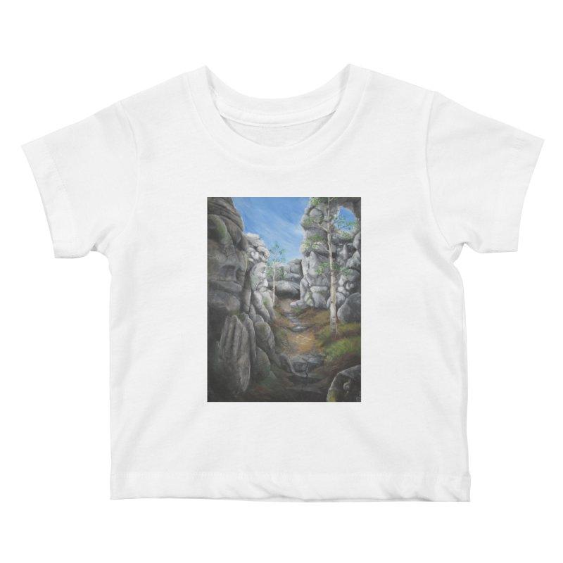 Rock Faces Kids Baby T-Shirt by Yodagoddess' Artist Shop