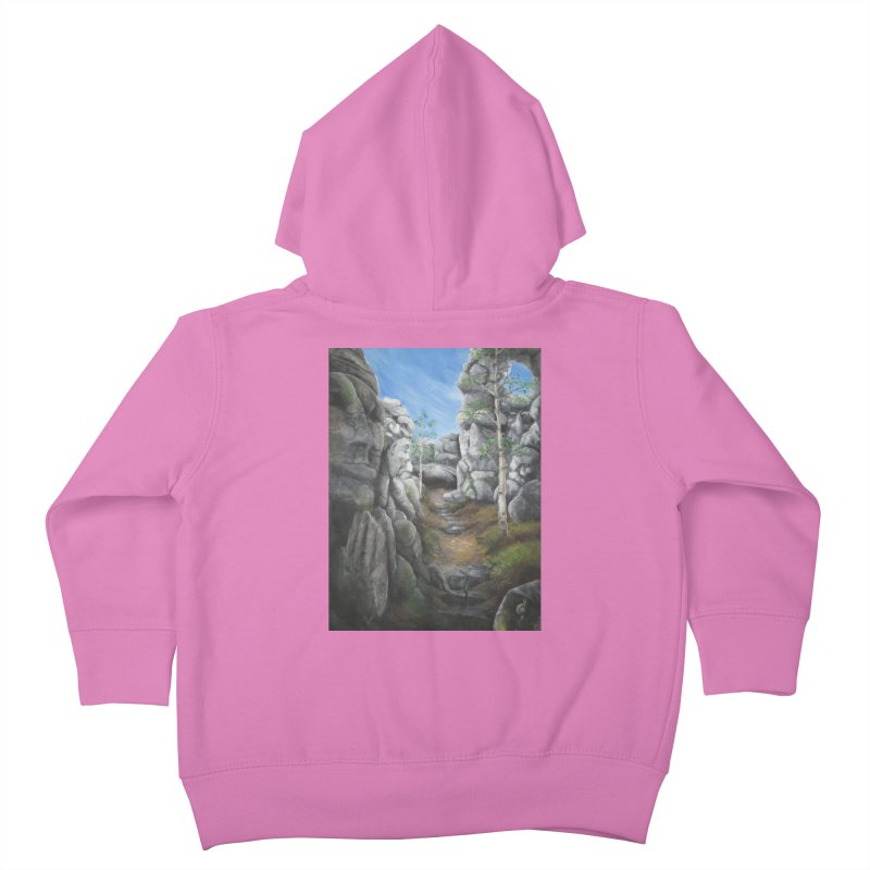 Rock Faces Kids Toddler Zip-Up Hoody by Yodagoddess' Artist Shop