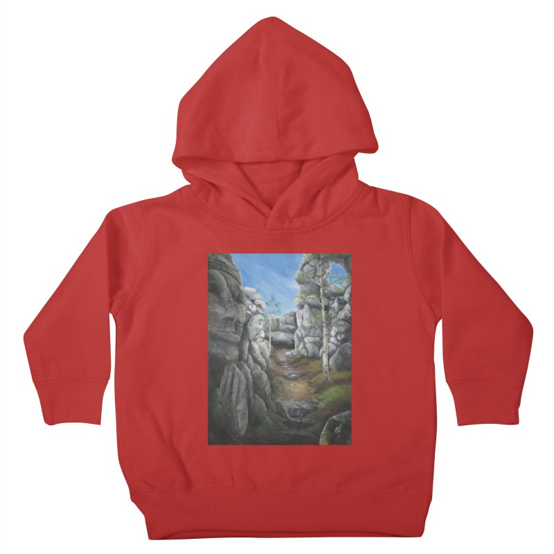 Rock Faces Kids Toddler Pullover Hoody by Yodagoddess' Artist Shop