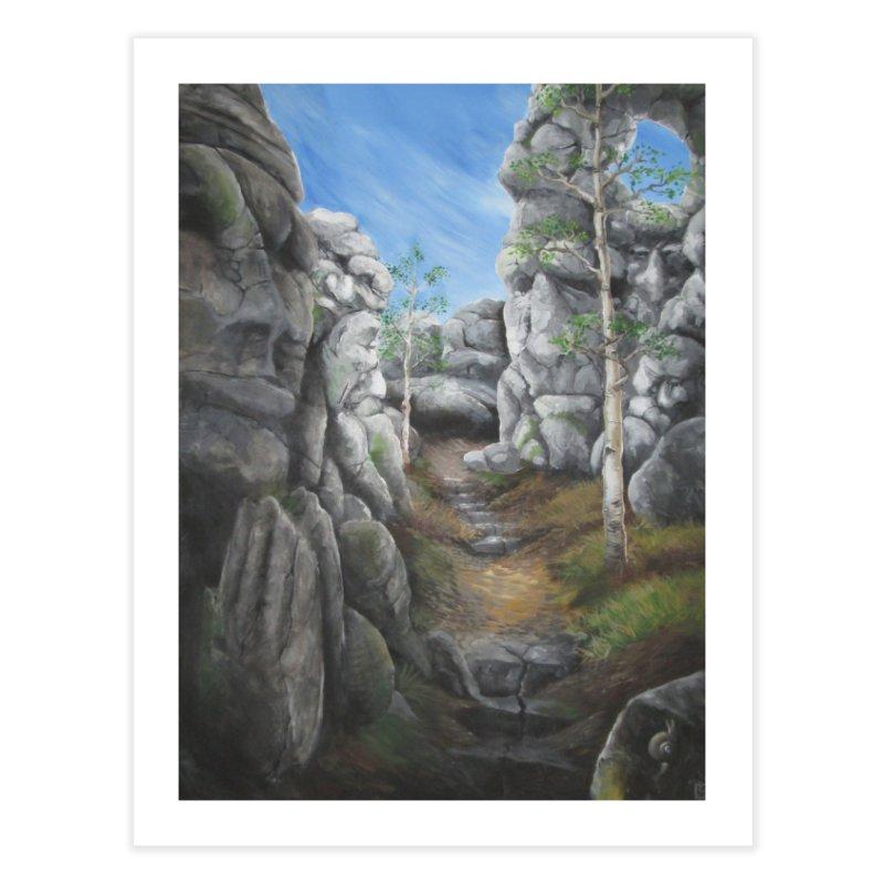 Rock Faces Home Fine Art Print by Yodagoddess' Artist Shop