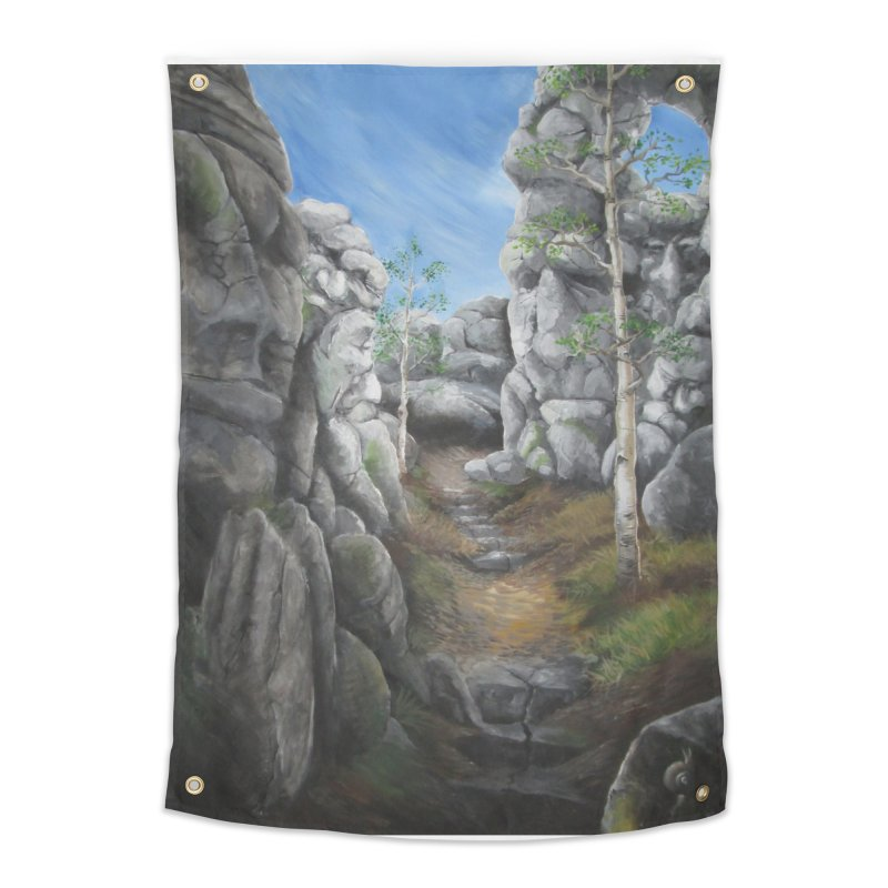 Rock Faces Home Tapestry by Yodagoddess' Artist Shop