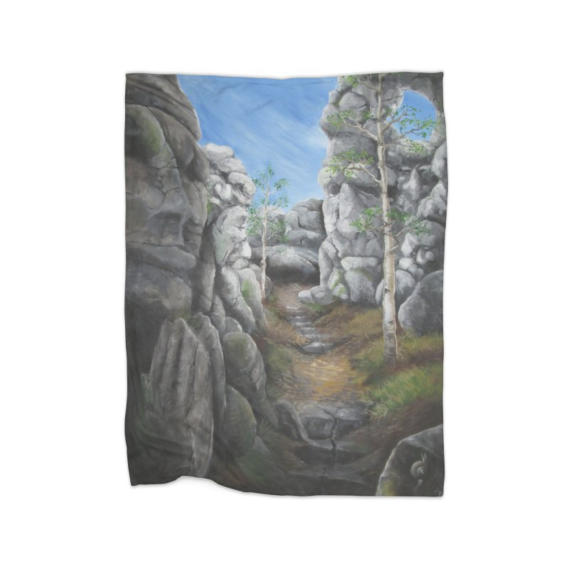Rock Faces Home Blanket by Yodagoddess' Artist Shop