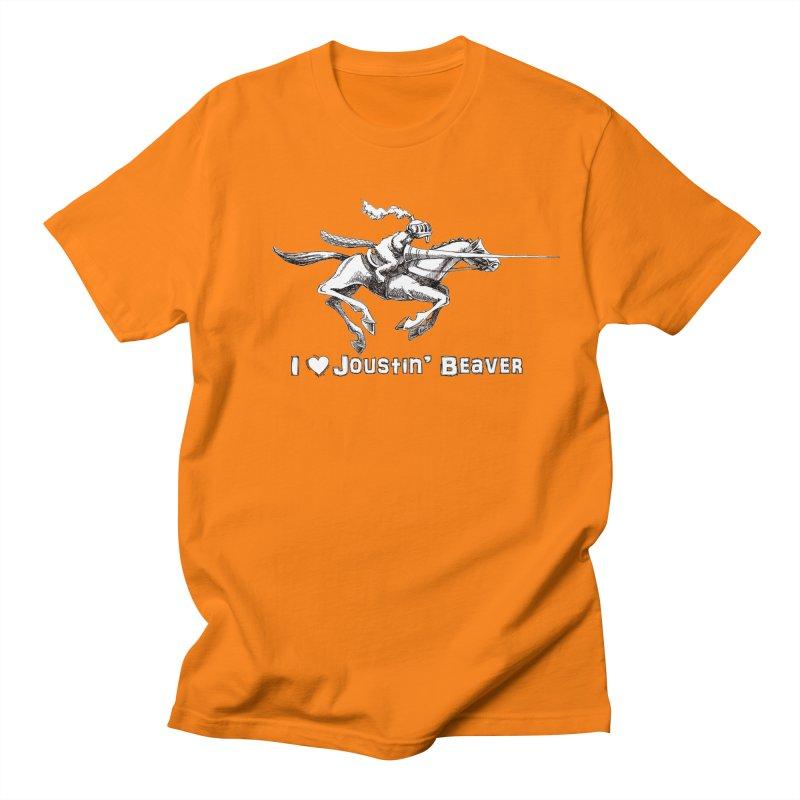 Joustin' Beaver Women's Regular Unisex T-Shirt by Yodagoddess' Artist Shop