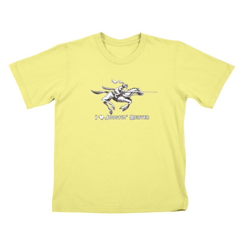 Joustin' Beaver Kids T-shirt by Yodagoddess' Artist Shop