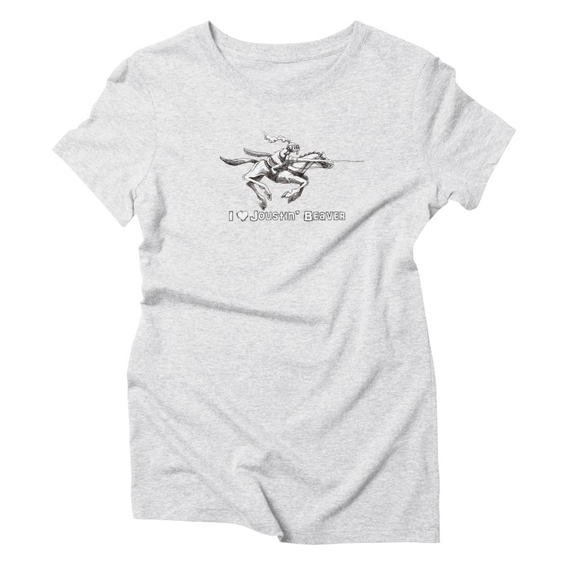 Joustin' Beaver Women's T-Shirt by Yodagoddess' Artist Shop