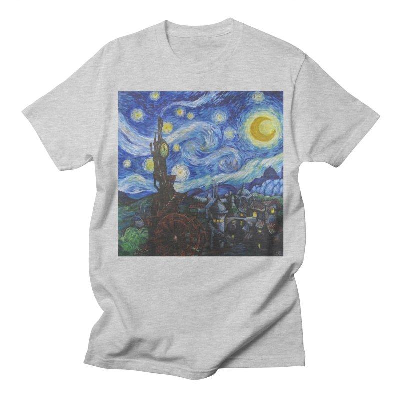 Steampunk Starry Night Women's T-Shirt by Yodagoddess' Artist Shop