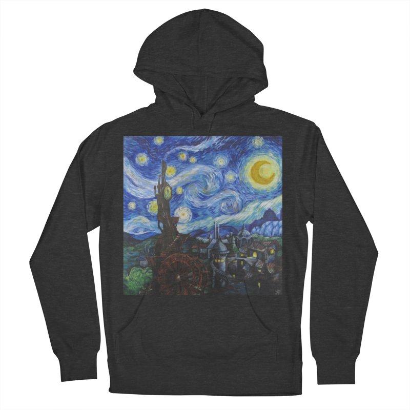 Steampunk Starry Night Women's Pullover Hoody by Yodagoddess' Artist Shop