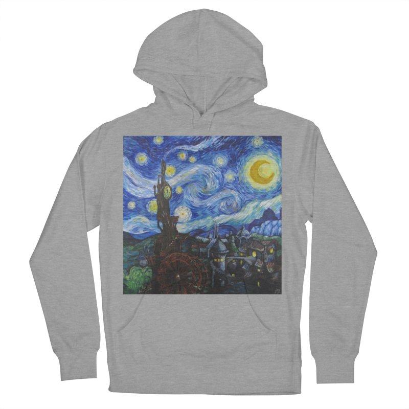 Steampunk Starry Night Men's Pullover Hoody by Yodagoddess' Artist Shop