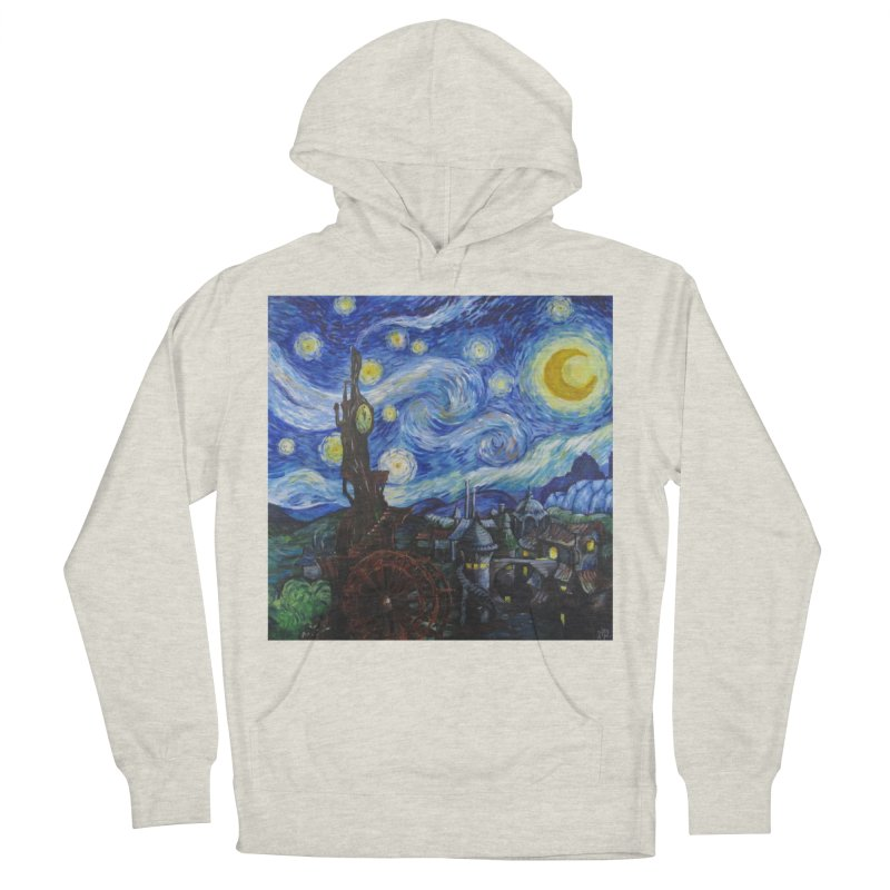 Steampunk Starry Night Men's Pullover Hoody by Yodagoddess' Artist Shop