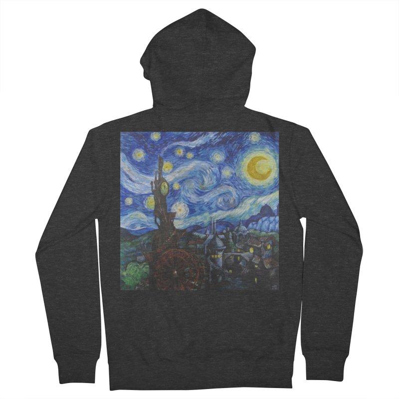Steampunk Starry Night Women's Zip-Up Hoody by Yodagoddess' Artist Shop