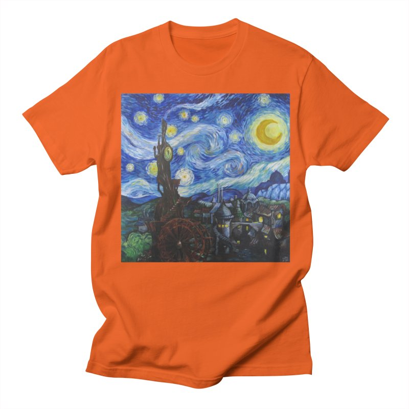 Steampunk Starry Night Women's Unisex T-Shirt by Yodagoddess' Artist Shop