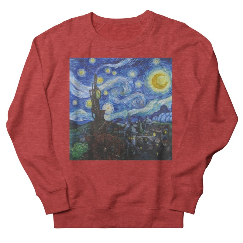Steampunk Starry Night Women's Sweatshirt by Yodagoddess' Artist Shop