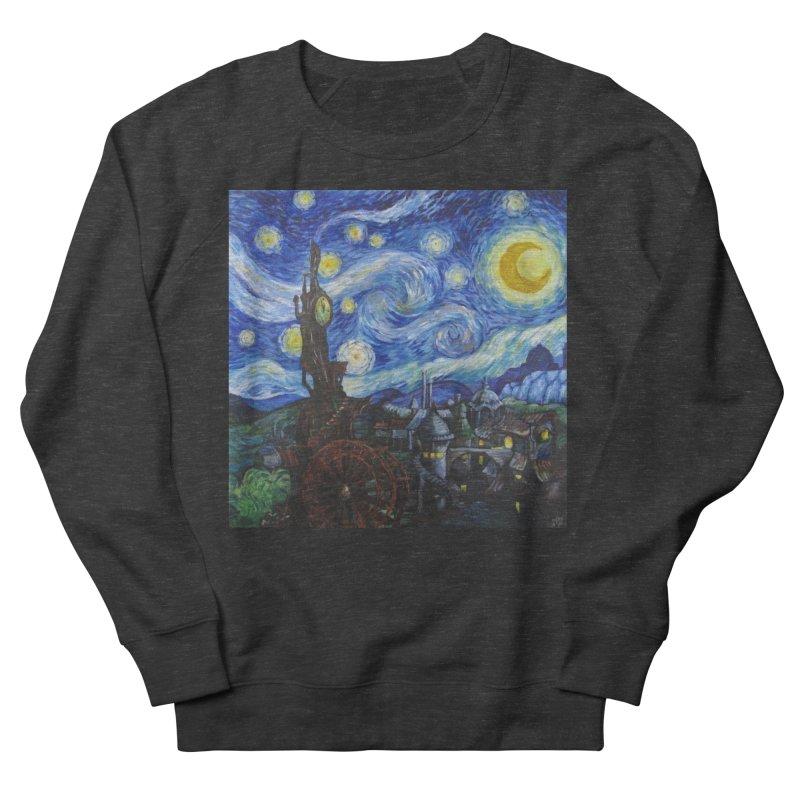 Steampunk Starry Night Men's Sweatshirt by Yodagoddess' Artist Shop