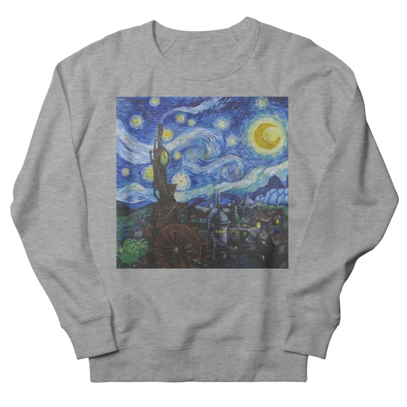 Steampunk Starry Night Men's Sweatshirt by Yodagoddess' Artist Shop