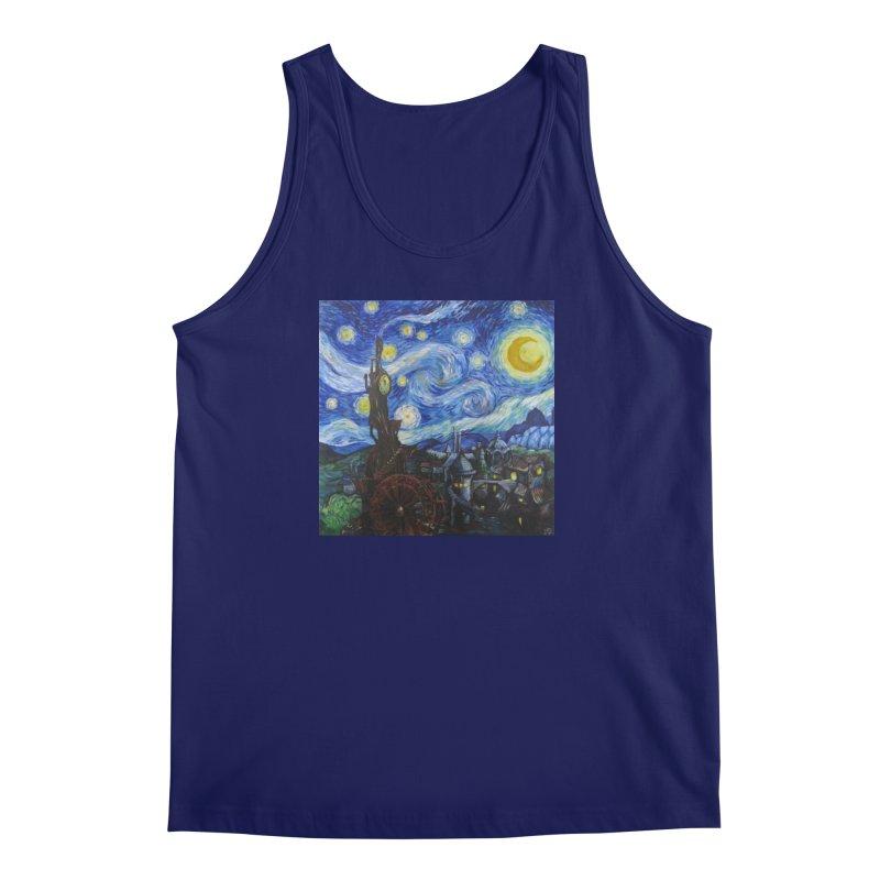 Steampunk Starry Night Men's Tank by Yodagoddess' Artist Shop
