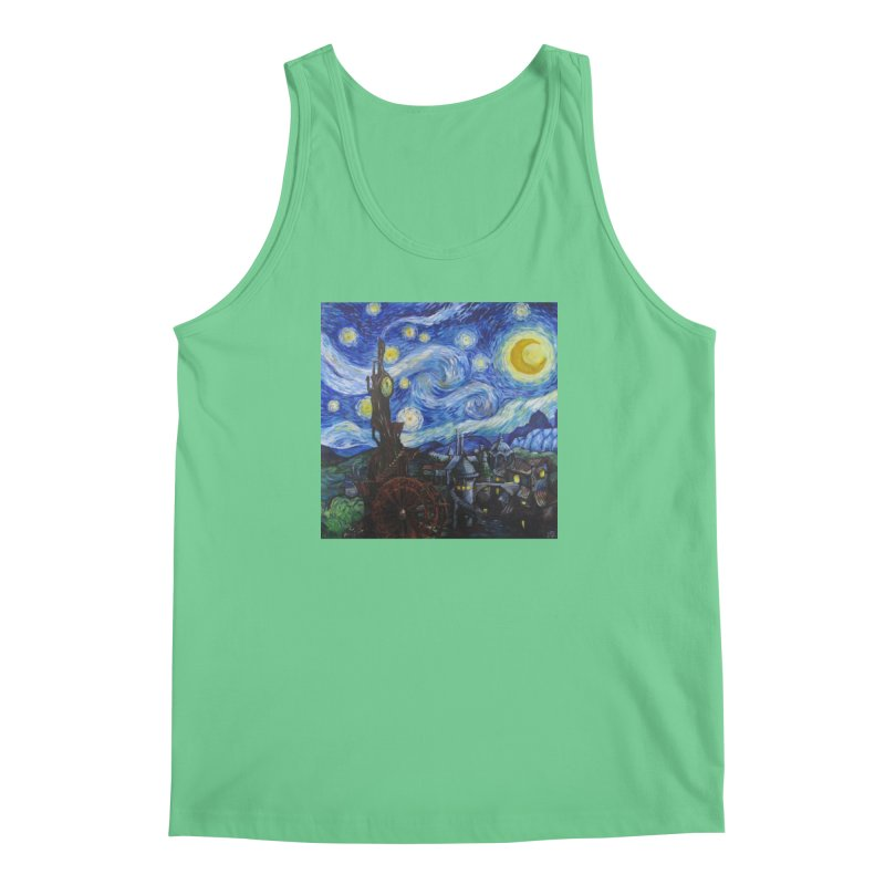 Steampunk Starry Night Men's Tank by Yodagoddess' Artist Shop
