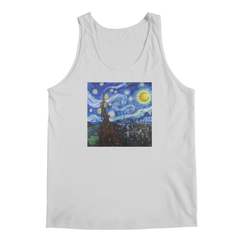 Steampunk Starry Night Men's Regular Tank by Yodagoddess' Artist Shop