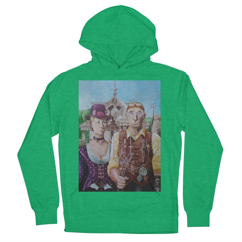 American Steampunk Women's French Terry Pullover Hoody by Yodagoddess' Artist Shop
