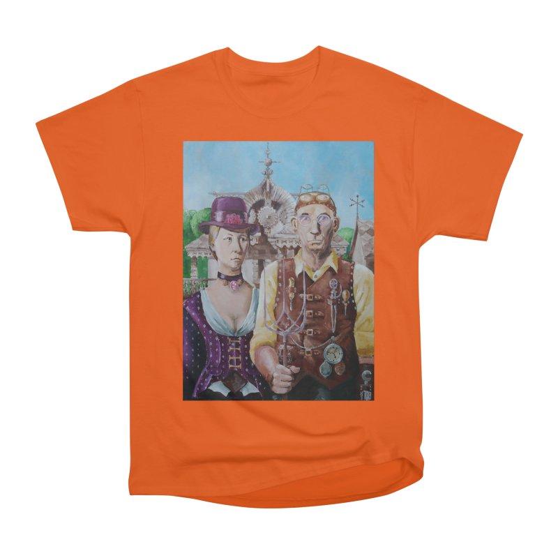 American Steampunk Women's Heavyweight Unisex T-Shirt by Yodagoddess' Artist Shop