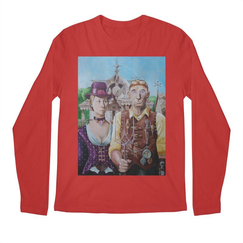 American Steampunk Men's Longsleeve T-Shirt by Yodagoddess' Artist Shop