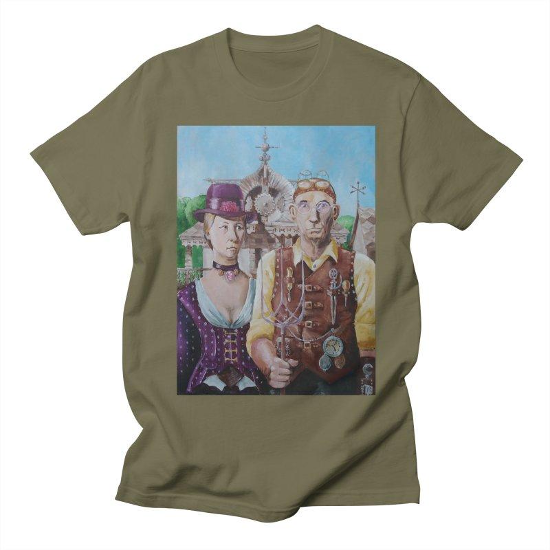 American Steampunk Men's T-Shirt by Yodagoddess' Artist Shop