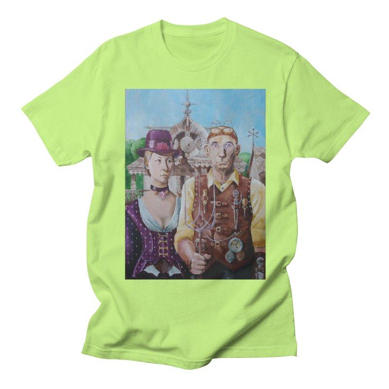 American Steampunk Men's Regular T-Shirt by Yodagoddess' Artist Shop