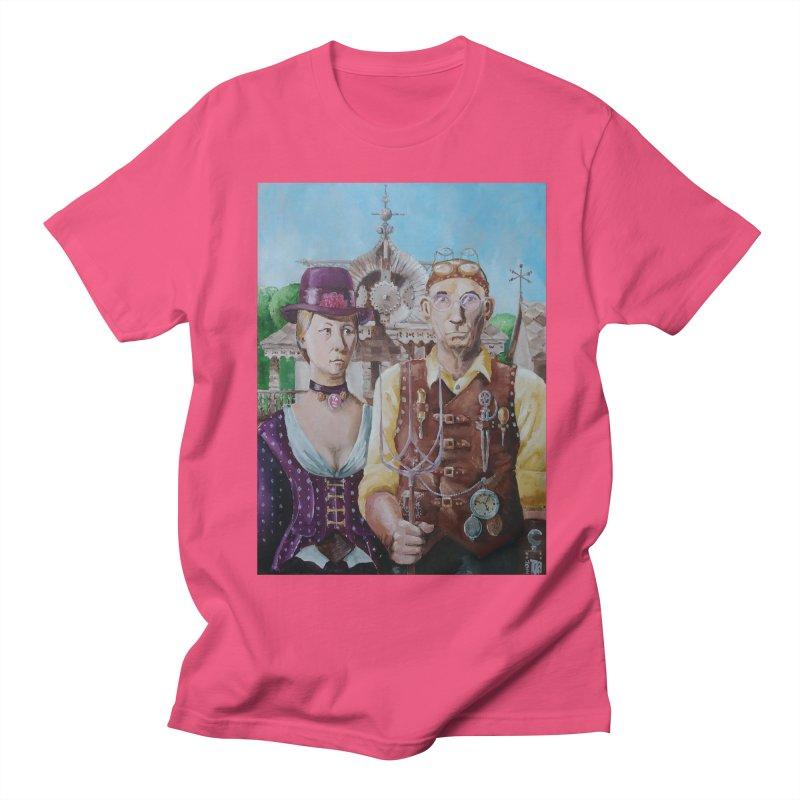 American Steampunk Women's Unisex T-Shirt by Yodagoddess' Artist Shop