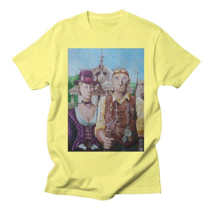 American Steampunk Women's Regular Unisex T-Shirt by Yodagoddess' Artist Shop