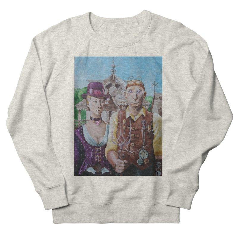 American Steampunk Women's French Terry Sweatshirt by Yodagoddess' Artist Shop