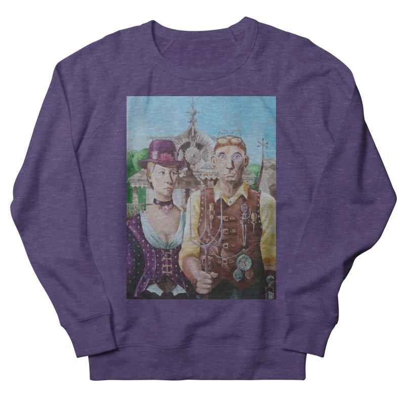 American Steampunk Men's French Terry Sweatshirt by Yodagoddess' Artist Shop