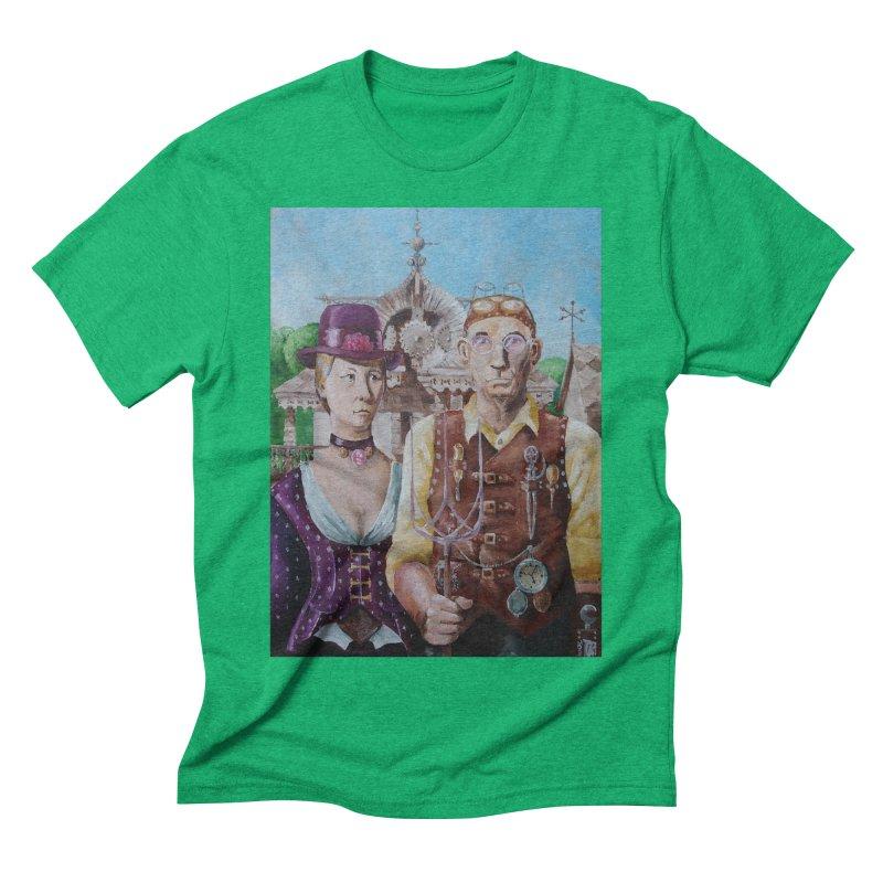 American Steampunk Men's Triblend T-Shirt by Yodagoddess' Artist Shop