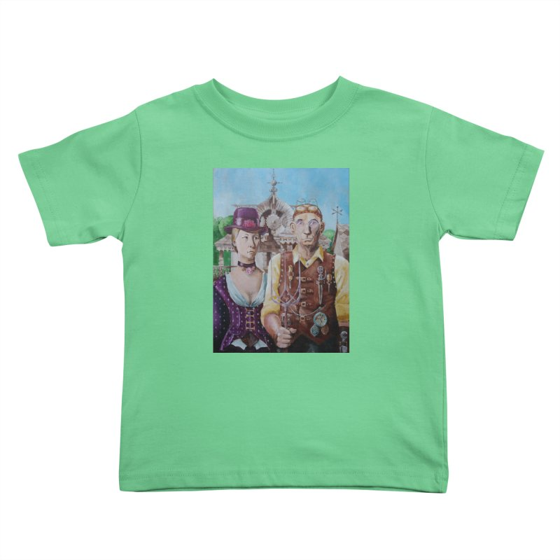 American Steampunk Kids Toddler T-Shirt by Yodagoddess' Artist Shop