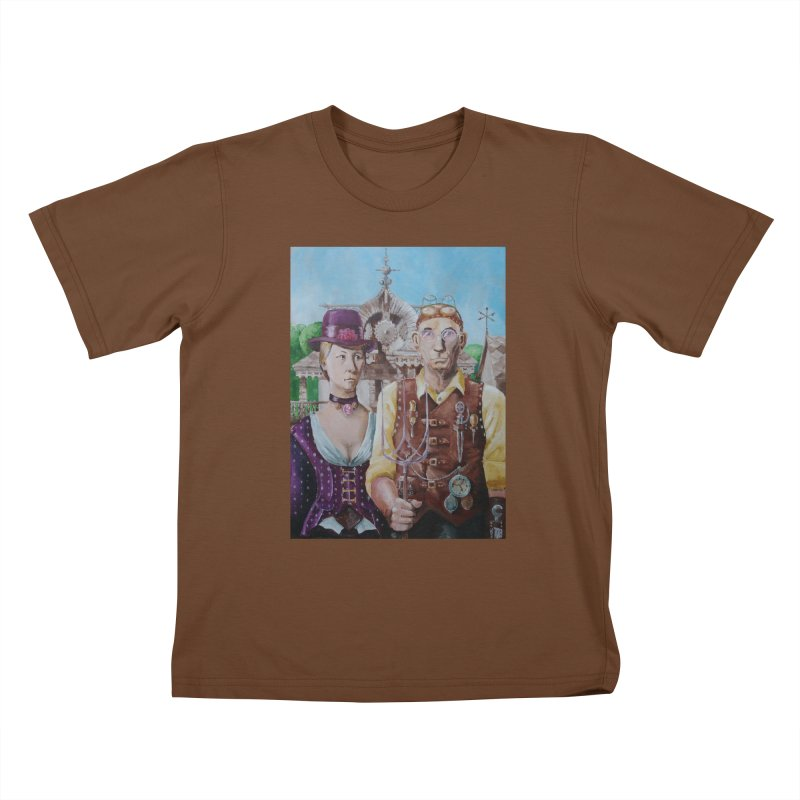 American Steampunk Kids T-Shirt by Yodagoddess' Artist Shop